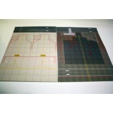 2 In 1 1:400 Wide and Narrow Body A4 Size Mat