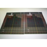 2 Pieces 1:400 Wide Body A4 Size Mat