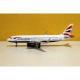 British Airways A320ceo G-EUYV