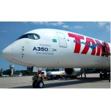TAM Airlines The America's First A350XWB A350-900 PR-XTA