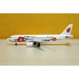 Air China Red Flowers A320 B-6610