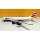 British Airways OneWorld B747-400 G-CIVK
