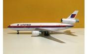 United Airlines Saul Bass DC-10-10 N1831U