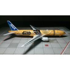 All Nippon Airways Star Wars C3PO B777-200ER JA743A
