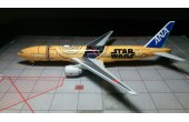 All Nippon Airways Star Wars C3PO B777-200ER JA743A