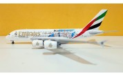 Emirates Airlines Real Madrid 2018 A380 A6-EUG