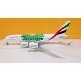 Emirates Airlines Green EXPO 2020 A380 A6-EEW