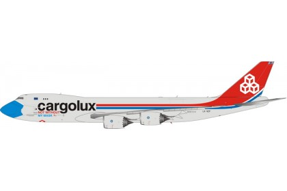 [PRE-ORDER] Cargolux Airlines Not Without My Mask B747-8F LX-VCF