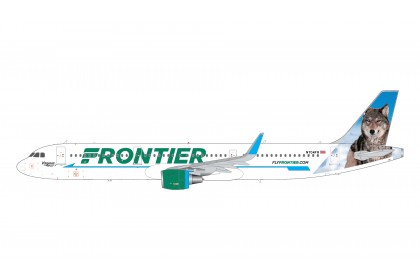 [PRE-ORDER] Frontier Airlines Virginia The Wolf A321ceo N704FR
